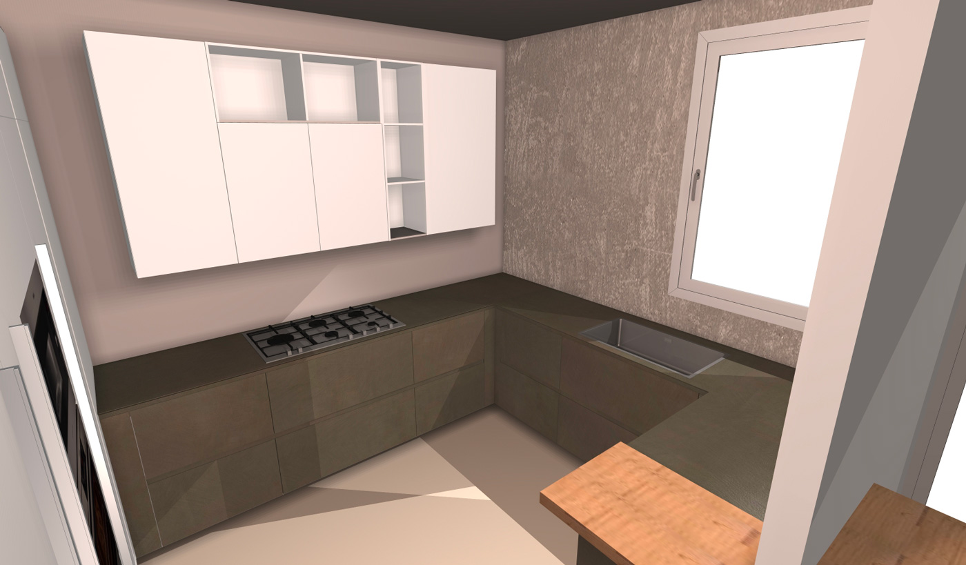Ristrutturazione di appartamento a Cesena - Living Arredamenti